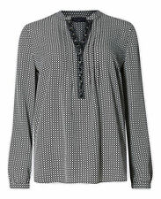 Marks and Spencer Women's Hip Length Long Sleeve Sleeve Formal Tops & Shirts