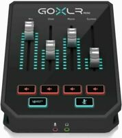 TC Helicon GO XLR Mini Multi Effects Audio Interface Live Streaming JAPAN