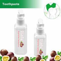 Viaty Toothpaste Stain Removal Whitening Fight Bleeding Gums Fresh 30/100ML #T