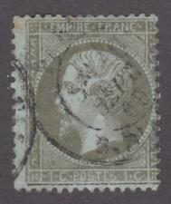 France 1862-71 #22 Emperor Napoleon III - Very Good Used
