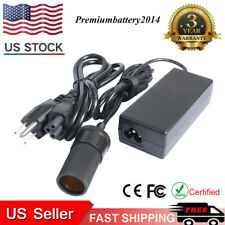 Lot AC Wall Plug-In Converter/ Adapter 110V AC to 12V DC Car Cigarette Lighter