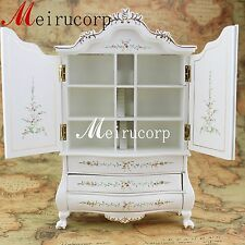 1:12 scale fine dollhouse miniature furniture well made white painted cabinet