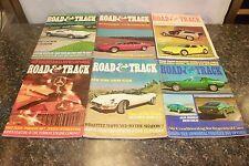 COMPLETE ROAD & TRACK MAGAZINE JANUARY-DECEMBER 1971 (OAK9677-1 LOC.DDD #470)