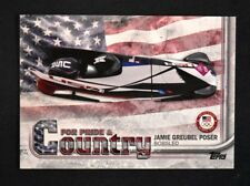 2018 Topps US Winter Olympics Pride and Country #JP Jamie Greubel Poser