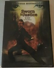 Sworn to Justice RARE Cynthia Rothrock OOP Action Sleaze B Movie Drive-in
