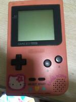 Hello Kitty Pocket Game Boy Pocket Sanrio Unusual Party Nintendo