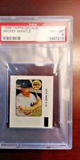 1969 Topps Decals Mickey Mantle HOF New York Yankees PSA 8 NM-MT CENTERED NO RES
