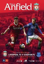 Programme : Liverpool v Everton - FA Cup 3rd Round - 05 January 2018 - MINT