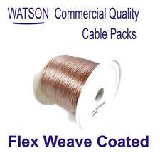 Flex Weave Covered Antenna Wire 100m Drum