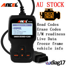 OBDII EOBD Live Data Fault Code Reader Engine Scanner Car Scan Diagnostic Tools
