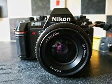 Nikon F501 and AF Nikkor 35-70mm f/3.3-4.5 spairs/repairs