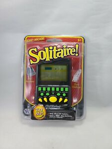 Solitaire Pocket Arcade Handheld Video Game New Sealed Fast Free Shipping!
