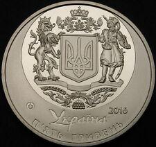 UKRAINE 5 Hryven 2016 Proof - 25 years Independence - 2317 ¤