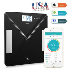 Bluetooth Smart Digital Bathroom Scale LCD BMI Body Fat Weight Scale 180kg/400lb