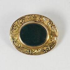 9 Carat Agate Brooch/Pin Victorian Fine Jewellery