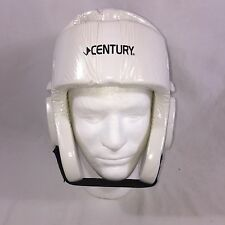 Century Karate Martial Arts Padded Head Gear White Adjustable