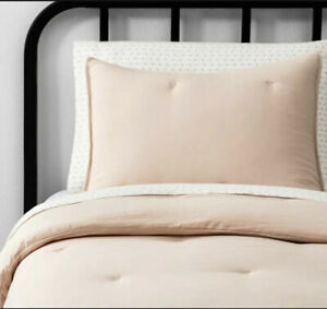 Hearth & Hand with Magnolia Solid Comforter Full Queen Spa Peach