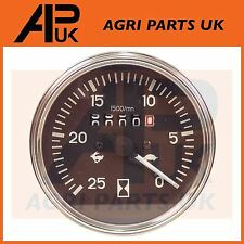Massey Ferguson 230 240 250 255 550 Tractor Tachometer Rev Gauge Counter