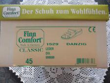 finn comfort Danzig pantolette Größe 45 farbe Dunkel Grau-bis Schwarz