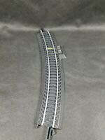 HO Scale Gauge POWER TRACK Terminal Section Model RR Curved See Detailed Pics