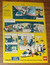 Seltene Werbung LEGO Legoland Space 6783 Sonar Transmitting Cruiser Comic 1986