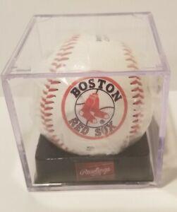 BOSTON RED SOX  2007  WORLD SERIES CHAMPIONS  Display Baseball Rawlings Case MLB