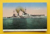 Gloria Viktoria Marine AK Panzerkreuzer Schalchtschiff Schiff 1914-18 1.WK WWI