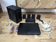 Panasonic 5.1 surround Bluray sound System (includes 5.1 Speakers)
