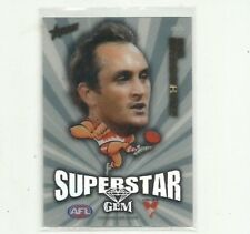 2011 AFL SELECT CHAMPIONS SUPERSTAR GEM SYDNEY SWANS DANIEL BRADSHAW MG15CARD