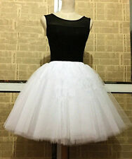 7 Layers Maxi Tulle Skirt Celebrity Skirts womens Adult Tutu Ball Gown skirts