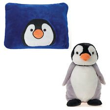 "Peek A Boo My First Pillow Travel Buddy Pet Plush Penguin Doll Toy Large 18"" NEW"