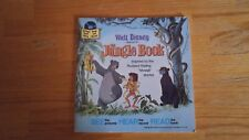 Disney Jungle book Read Along Book no record included