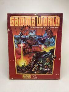 Vintage 1983 TSR Gamma World 2nd Edition Robot Cover Box Set