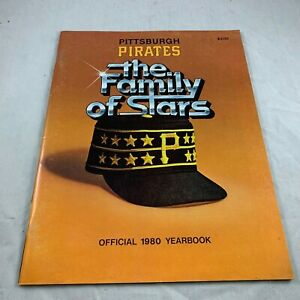 1980 PITTSBURGH PIRATES THE FAMILY OF STARS OFFICIAL YEARBOOK IRON CITY BEER AD