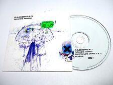 cd-single, Radiohead - Paranoid Android, Cardsleeve