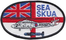 Royal Navy RN Fleet Air Arm FAA Westland Lynx Sea Skua Embroidered Patch
