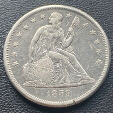 1859 O Seated Liberty Dollar One Dollar $1 High Grade XF - AU  Rare #23744
