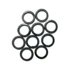 carpleads PLATE-FORME anneaux Noir Mat 15 pièces 4.4mm