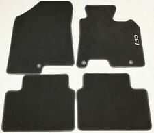 GENUINE HYUNDAI i30 Mk2 VELOUR CARPET MATS MAT SET GD 2012-2016 BLACK NEW