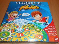 jeu de société SCRABBLE FLIP (enfants) jeu de mots empli d'action - neuf