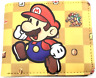 Super Mario Bros. Men Wallet Short Faux Leather Purse ID/Credit Card Holder