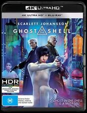Ghost In The Shell (4K Ultra HD/ Blu-Ray, 2017, 2-Disc Set) (Region B) Aussie