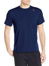 Adidas Hombre Entrenamiento Utilidad Tech Manga Corta Camiseta, Colegial Marina,