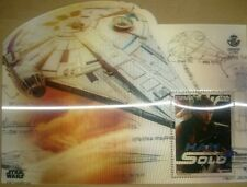 Star Wars Stamp Sello 3 D Correos Millennium Falcon Han Solo Emisión Cine Spain