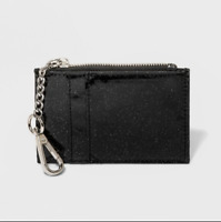 NEW Cardcase with Keychain - Wild Fable Black Glitter