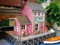 PLANS ONLY - Charlie's Bait & Tackle G Scale 1:24 Building Plans Model Railroad