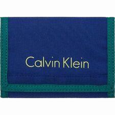 Calvin Klein Col3 Nylon 8 CC + Coin Geldbörse Monaco Blue Blau Erwachsene Neu