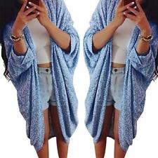 Casual Women Long Sleeve Knitted Cardigan Loose Sweater Jacket Coat Outwear Tops