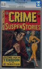 CRIME SUSPENSTORIES #25-CGC 6.0-JACK KAMEN MURDER CVR-1954