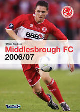 """Middlesbrough Official Yearbook Dave Allan """"AS NEW"""" Book"""